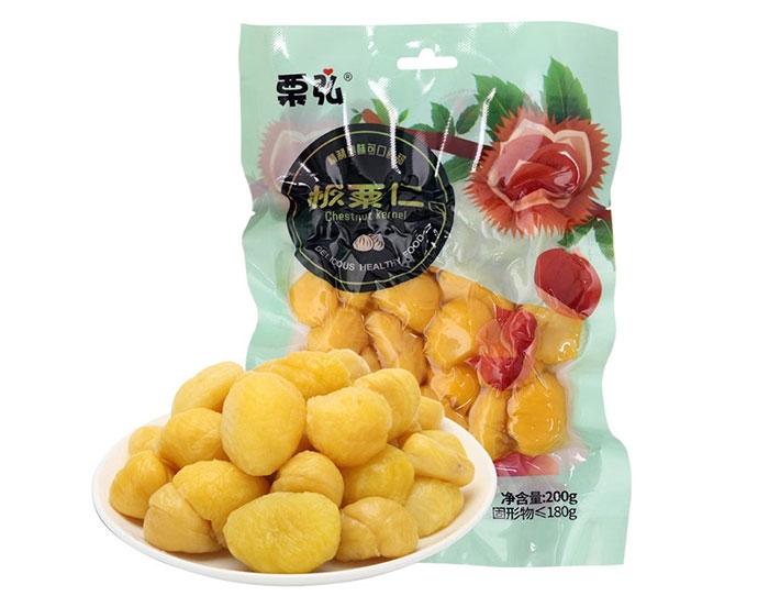 板栗仁如何生产成罐头食品