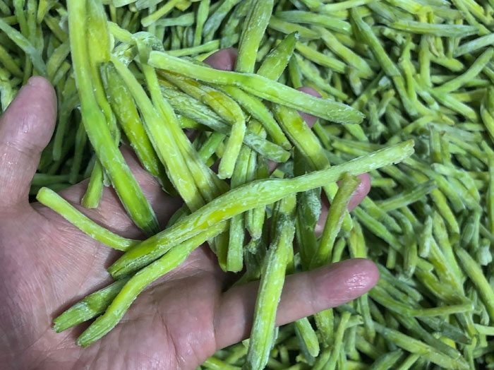 冷冻黄花菜